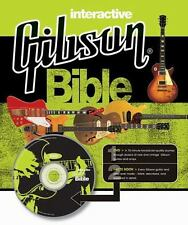 Interactive Gibson Bible by Dave Hunter (2008, Hardcover / Mixed Media) MINT