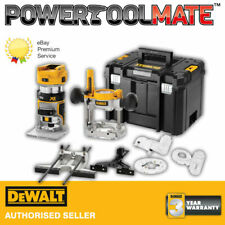 Dewalt DCW604NT 18V XR Brushless ¼? Router With Fixed & Plunge Bases