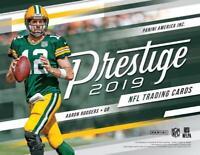 2019 Panini Prestige NFL Football INSERT Cards Pick From List (All Versions)