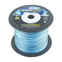 Spiderwire Stealth Blue Camo BRAID 30LB (13.6kg) .30mm 2743 m 3000 Yds