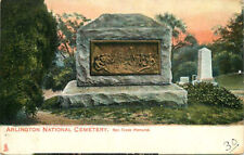 Postcard Arlington National Cemetery General Crook Memorial, Virginia ca 1907