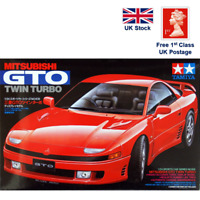 TAMIYA 24108 Mitsubishi GTO Twin Turbo 1:24 Red Racing Car Model Kit scale DIY