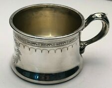 Antique Sterling Silver Drinking Mug or Cup by Gorham Silversmiths