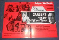 Edgar Wallace Sanders und das Schiff des Todes Heinz Drache Werberatschlag