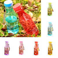 FJ- CN_ 500ml Portable Travel Sport Water Bottle Fruit Juice Cup Gift Plastic Ey