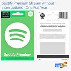 Spotify Premium ( 1 Full Year) Christmas Gift