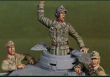 1/35 WW2 German Tank Crew in North Africa WWII Resin Model Kit (3 Figures)
