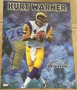 Kurt Warner St Louis Rams 16x20 Starline Poster OOP
