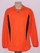 Philadelphia Flyers Mens Therma Base Sweatshirt Orange S - NHL