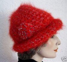 Genuine Vintage Cap Hat Brunschwig Handmade in Schwitzerland Switzerland Red-Sil.