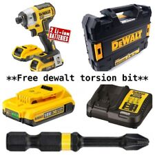 DeWalt DCF887D2 18v 2x 2Ah Li-ion Cordless 3 Speed Brushless XR Impact Driver