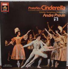 Prokofiev: Cinderella Andre Previn 33RPM DSB3944 2 record set 010116LLE#2