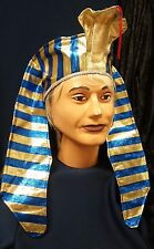 Deluxe Pharaoh Headpiece King Tut Fun Adult or Child Costume Hat Accessory