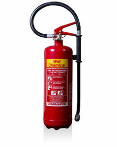 NEW 3 LITRE WET CHEMICAL FIRE EXTINGUISHER