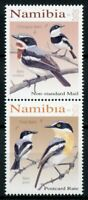 Namibia Birds on Stamps 2020 MNH Batises Pririt Chinspot Batis 2v Se-tenant Set