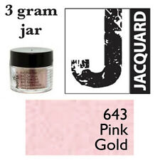 Pearl Ex Mica Powdered Pigments - 3g bottles - PINK GOLD 643