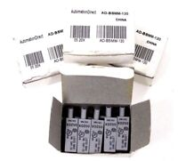 NEW LOT OF 4 BOXES AUTOMATIONDIRECT AD-BSMM-120 MOV MODULE ADBSMM120 0520X
