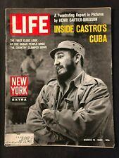 Life Magazine  March 15 1963  Fidel Castro
