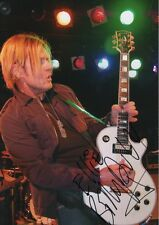 """Billy DUFFY """"The cult"""" autographe signed 20x30 cm image"""