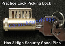 NEW Kwikset Cutaway Practice Lock Picking Lock, Locksmith Training Tool