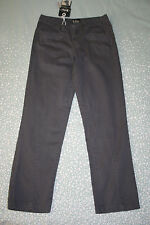 Lee Cooper Girls Combat Trousers Grey Cotton Casual Pants Age 11-12 Yrs