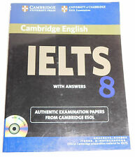 Cambridge University English IELTS 8 Answers Authentic Examination Papers ESOL