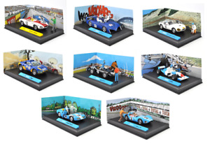 Lot de 8 voitures BD MICHEL VAILLANT 1/43 - ALTAYA miniature Diecast Car L03