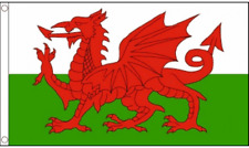 Wales Flag Large 5 x 3 FT - Hard Wearing Best Quality 100%