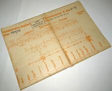 Bildfahrplan 8 Rbd Magdeburg 1951/52: Oebisfelde, Rathenow, Stendal, Salzwedel