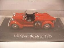 voiture 1/43 eme IXO ALTAYA Classics MERCEDES 150 SPORT Roadster 1935