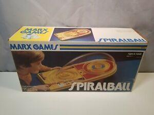 1975 Vintage Original Marx Spiralball Game Complete & Box