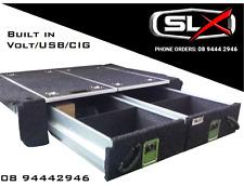 200 Series Landcruiser 4WD Drawer System storage With Fridge Slide Dual Battery