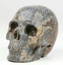 "1.9"" Pietersite Carved Crystal Skull, Realistic, Crystal Healing"