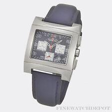 Authentic Invicta Men's Blue Leather Bracelet Watch 9906