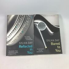 2 Sylvia Day Books - Reflected In You & Bared To You - Bundle