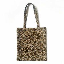 Women Canvas Shoulder Bag Messenger Hobo Leopard Print Purse Satchel Tote bag