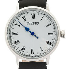 Classic single hand watch with Swiss-made movement. Limited Edition by Svalbard