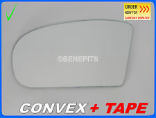 For MERCEDES C CLASS W211 2002-2006 Wing Mirror Glass CONVEX + TAPE Left /E015