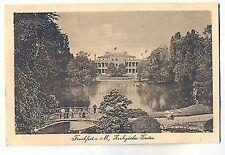 D 337, Frankfurt Main Grosser Weiher mit Zoo Terrassen Steg, gelaufen vor 1945