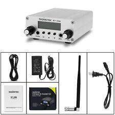 ST-05B FM Transmitter Dual Mode Long Range Stereo Broadcast Home Silver