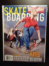 Nate Sherwood Freestyle March 2003 Big Brother Skateboard Magazine