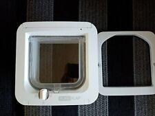 Sureflap Microchip Cat Flap Model NoSUR001 Battery Powered 4 Way Locking