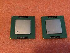 Dual-Enabled Pair (2x) Intel Pentium Iii 1000/256/133 Socket 370 Cpus