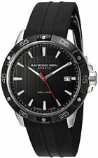 Raymond Weil Men's 'Tango' Swiss Quartz Stainless Steel and Rubber Casual Watch,