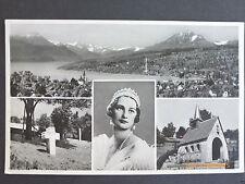Sammler Motiv Ansichtskarten aus der Schweiz mit dem Thema Dom & Kirche