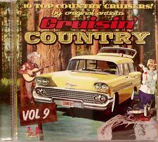 CRUISIN' COUNTRY - Volume #9 - 30 VA Tracks'