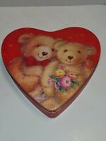 Collector Tin, Heart, Bears
