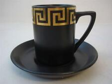 PORTMEIRION GREEK KEY COFFEE CUP AND SAUCER