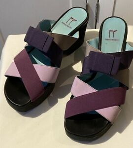 Thierry Rabotin Wedge Shoes Size 40