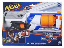 Hasbro Nerf Strongarm Fucile a 6 Dardi Gittata Lunga Combattimento Bambini 36033